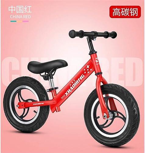 autorización oficial MYMAO 01Equilibrio de los Niños Scooter Coche 2-3-6 2-3-6 2-3-6 años de Edad Niños y niñas sin Pedal Bicicleta bebé Dos Ruedas Niño yo,g1rojo  alta calidad