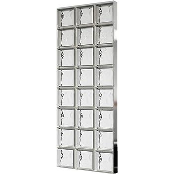 5 piezas FUCHS bloques de vidrio nube neutro 24x24x8 cm: Amazon.es: Bricolaje y herramientas