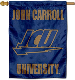 College Flags and Banners Co. JCU Blue Streaks Double Sided House Flag