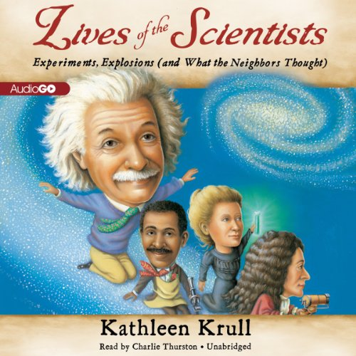 Lives of the Scientists audiobook cover art