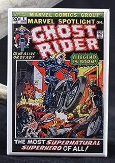 Marvel Spotlight #5 Comic Book Refrigerator Magnet. Ghost Rider