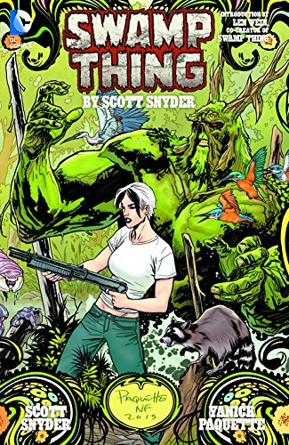 Price comparison product image Swamp Thing By Scott Snyder Deluxe Edition (The New 52)