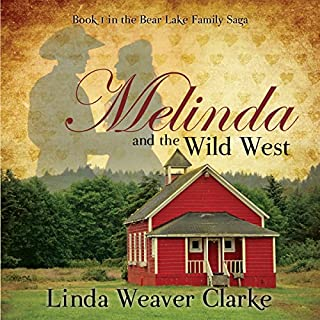 Melinda and the Wild West audiobook cover art