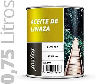 ACEITE DE LINAZA Nutrición y protección de la madera. 750ML