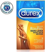 Condoms, Non-Latex Durex Avanti Bare RealFeel Condom, 10 ct HSA Eligible