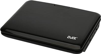 """Lecteur DVD portable D-jix PVS 902-76L HD écran rotatif 9 """" USB carte SD Xvid"""