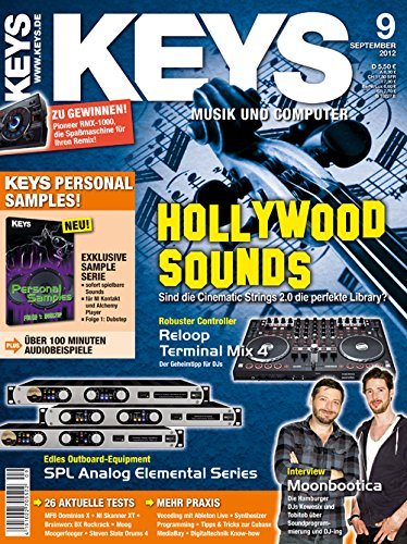 Keys 9 2012 - Hollywood Sounds Library - Software als Download - Personal Samples - Free Loops - Audiobeispiele