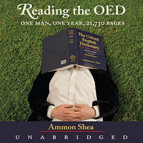 Reading the OED audiobook cover art