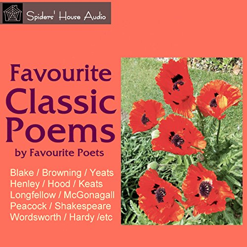 Favourite Classic Poems audiobook cover art