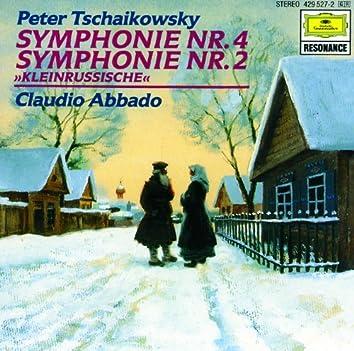 "Tchaikovsky: Symphonies No. 4 & 2 ""Little Russian"""
