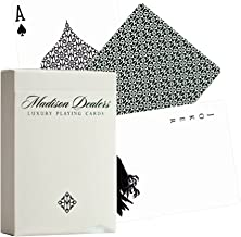 Ellusionist Madison Dealers Green Bicycle Playing Cards, Plastic Coated Paper, USPCC, Made in USA