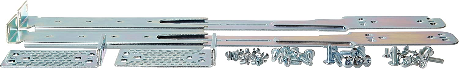 RW RoutersWholesale Mounting Kit Compatible/Replacement for Cisco Catalyst 3850 Series Switches / C3850-4PT-KIT=
