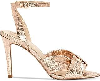 Womens Jenika Leather Open Toe Formal Slingback, Pink,...