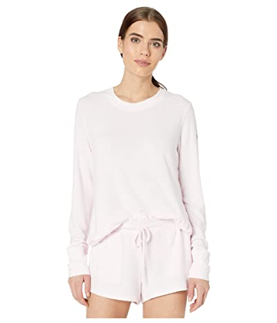 ALO Glimpse Long Sleeve Top (Soft Pink Heather) Women