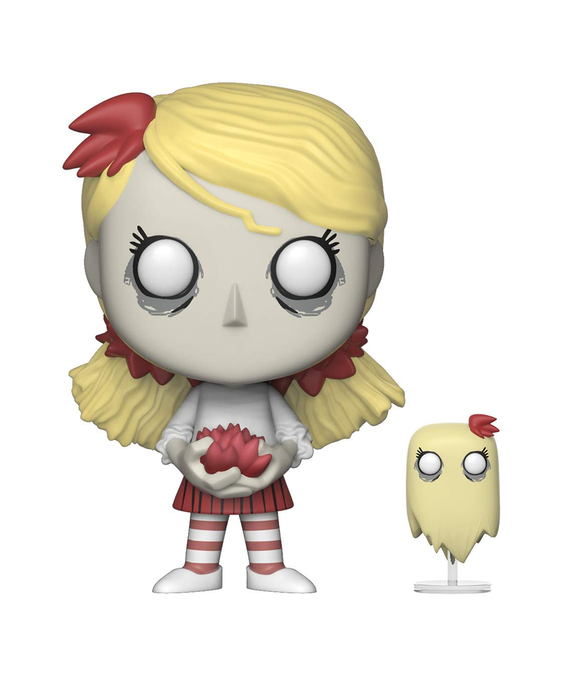 Funko Pop & Buddy 游戏:Don't Starve - Wendy with Abigail 收藏模型,多色