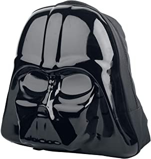 The Force Awakens Darth Vader Mask 3D Shaped Backpack (Bp091408Stw) Mochila tipo casual 45 centimeters Negro (Black)