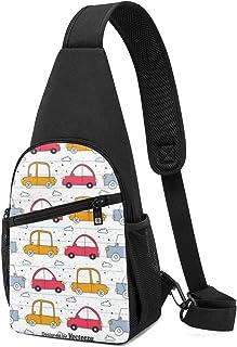 Doodle - Mochila bandolera ligera para el hombro, mochila para el pecho, bolsa cruzada, para viajes, senderismo, para homb...