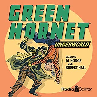 The Green Hornet: Underworld audiobook cover art