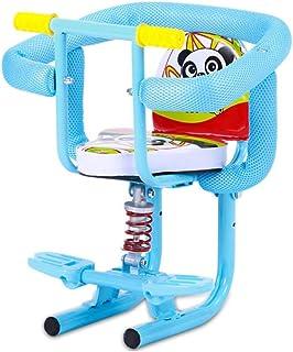 Moto eléctrico del Asiento del niño Frente Niño Soporte del Asiento del Asiento del Pedal manija Desmontable barandilla de protección y Asiento de Seguridad for bebés Pedal