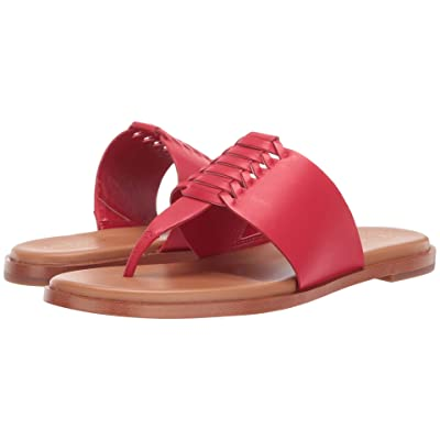 Cole Haan Felix Grand Thong Sandal (Barbados Cherry Leather) Women