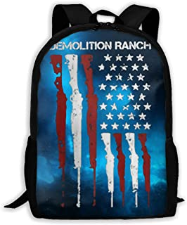Zrsdfjgiosrj Demolition Ranch Rucksack Laptop Backpack Casual Day Packs for School Travel and Hiking Women Man