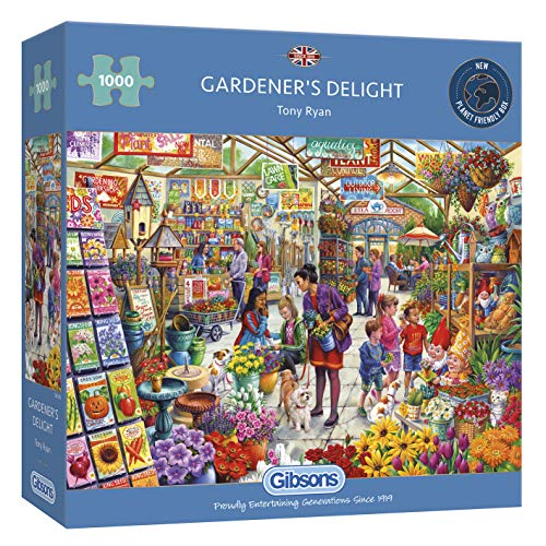 Gibsons G6305 - Gardener's Delight 1000 Teile Puzzle