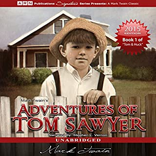 Adventures of Tom Sawyer: Tom Sawyer & Huckleberry Finn Series, Book 1 audiobook cover art
