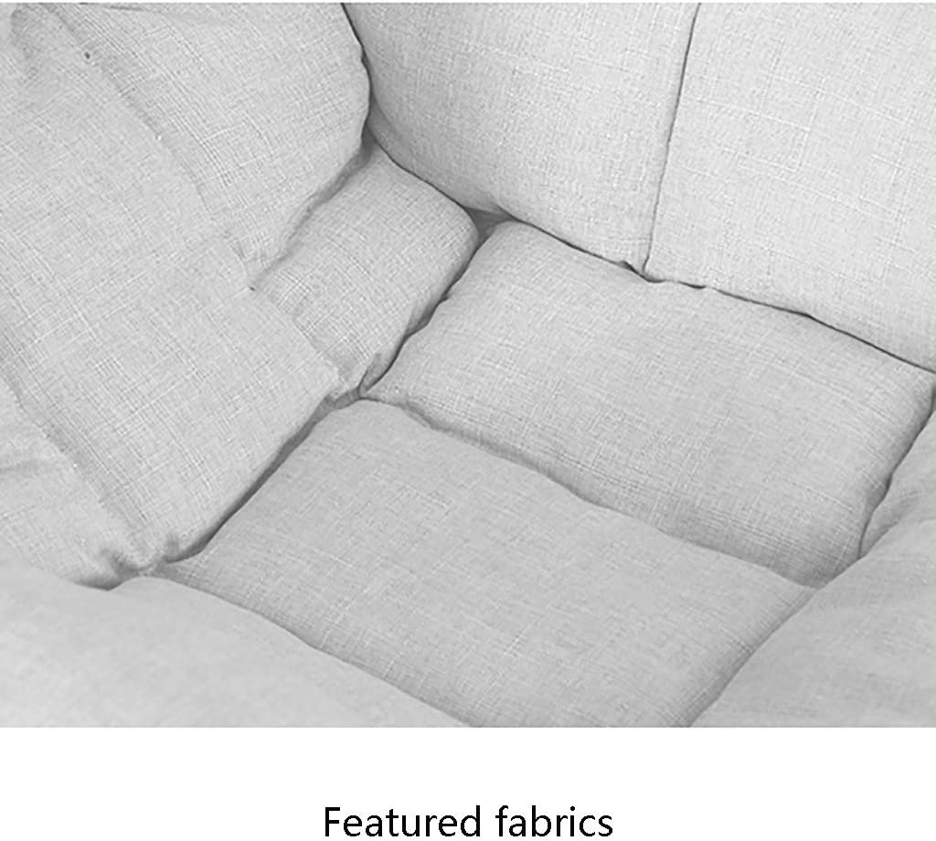 Petit tabouret Paresseux CanapéNursing Glider Chair Créatif Unique Canapé Repose-Pieds Mini Ordinateur Chaise Chambre Simple Dortoir Amovible Lavable Chaise Pliante I