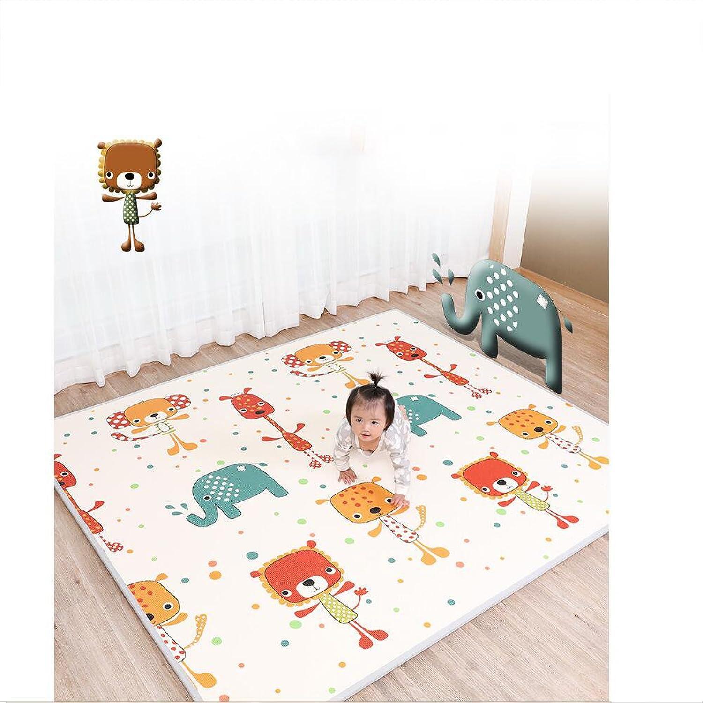 LIUZEIMIN Foam baby crawling mat,Foam play crawling rugs Portable activity tummy time playmat-A 180CM150CM2CM
