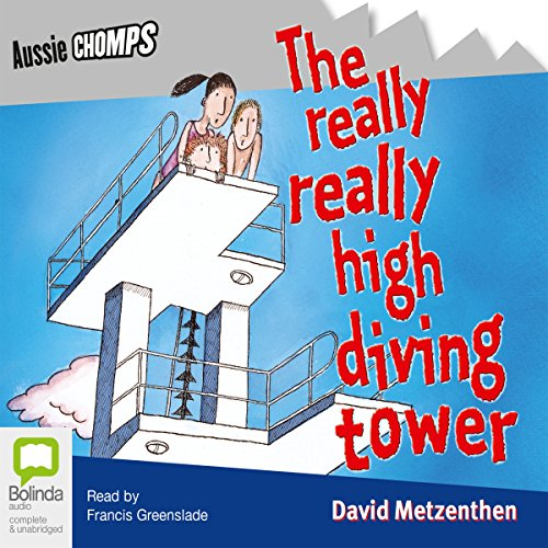 The Really Really High Diving Tower audiobook cover art