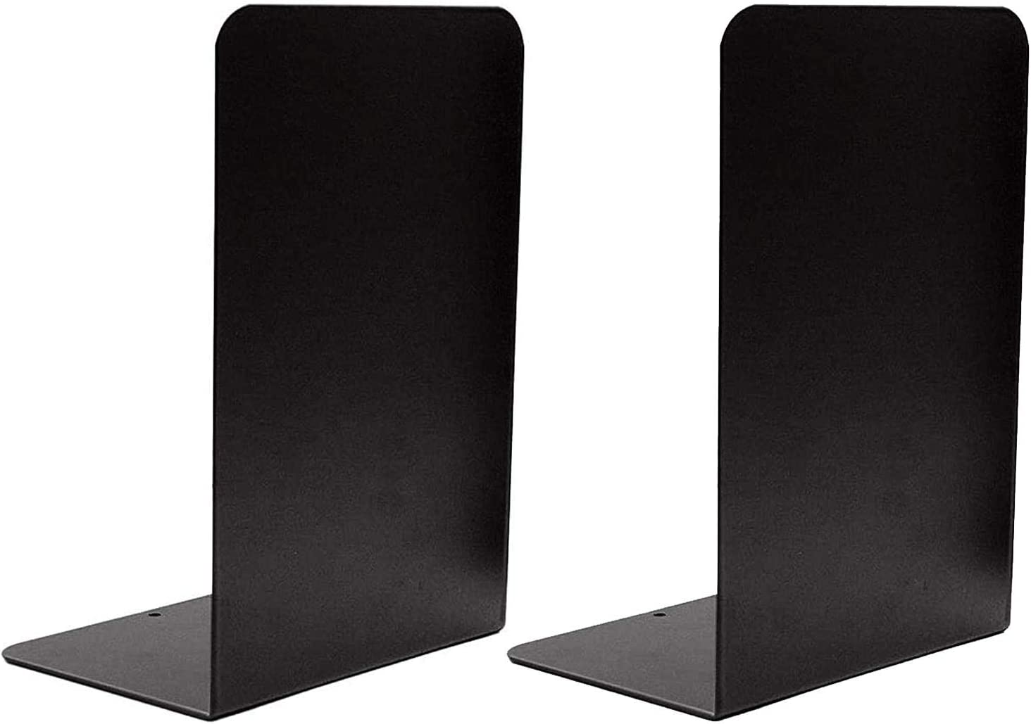 Black Metal Bookends Max 66% OFF Gibolin Book Ends Columbus Mall Foam Pa Shelves for with