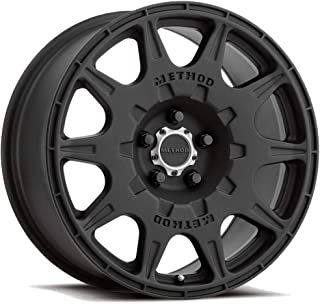 Method Race Wheels MR502 RALLY BLACK Wheel with Matte (0 x 7. inches /5 x 100 mm, 15 mm Offset)