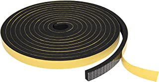 TORRAMI Weather Stripping for Windows 1/2 inch W x 1/4 inch T x 13 Ft Length,Foam Sealing Insulation Tape Weather Strip (Total 26 Ft Length, 2 Rolls of 13 Ft Each)