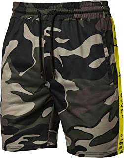 Hokny TD Men Classic Fit Casual Jogger Gym Workout Shorts with Elastic Waist