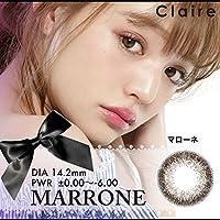 Claire<クレア>ワンデー10枚入 【マローネ】 -1.25