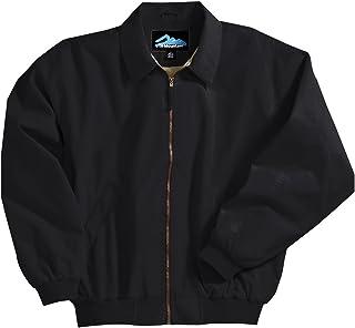Tri-mountain Microfiber jacket with poplin lining. 6000TM - BLACK_XL