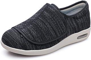 LLGG Edema Swollen des Sandales Respirant,Anciennes Chaussures Velcro Ajustables, ajoutant de l'engrais pour élargir Les C...
