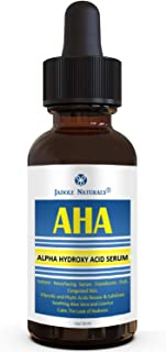 AHA Alpha Hydroxy Acid Instant Resurfacing and Hydrating Serum, Glycolic, Aloe Vera & Licorice 1 oz/ 30 ml