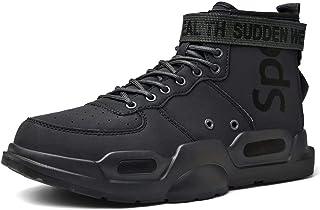 SANNAX Scarpe Alte da Uomo Scarpe da Ginnastica alla Moda Sneakers Scarpe da Corsa Leggere da Passeggio Casual Stile Liber...