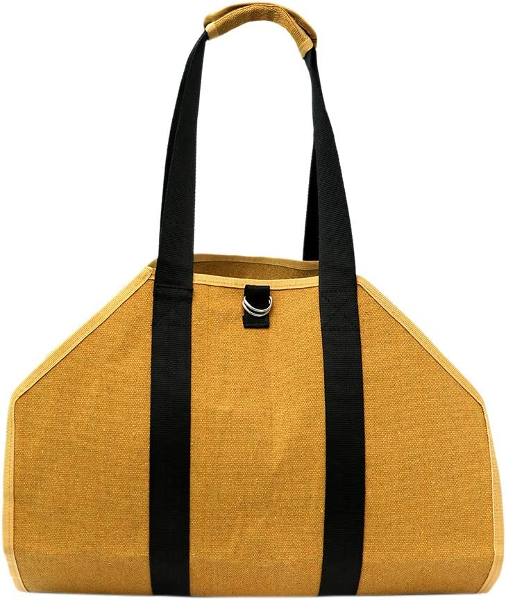 Canvas Log Carrier Tote Bag Stor Duty Heavy gift low-pricing Firewood