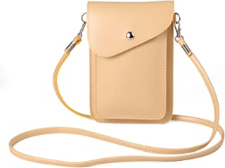 Women's PU Leather Shoulder Bag Wallet Case for Apple iPhone X / 8 7 Plus / ZTE Nubia Z17 / Z17 Mini / Blade X Max / Max 3 / A2 Plus / V8 / V8 Pro / Max XL / Axon 7S / Hawkeye / OnePlus 5 3T (Beige)
