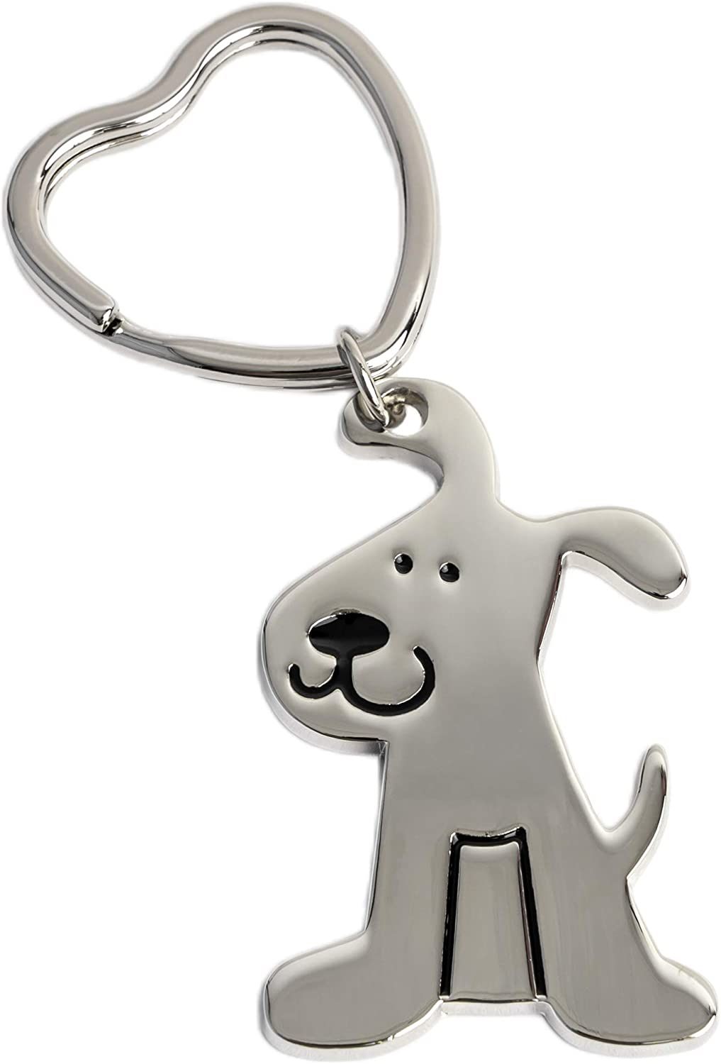 Rescue Pup Keychain - Great Gift for a Dog Lover, Each Purchase Provides 4 Donated Meals to Shelter Dogs