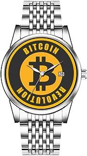 silver bitcoin round