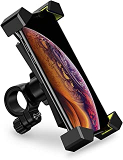 UGREEN Bike Phone Holder, Bicycle Motorcycle Phone Mount Stainless Mount 360 Rotation on Stroller,for 4.6-6.5 inch Compati...