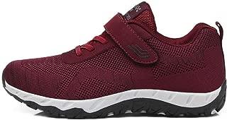 SKLT Running Shoes for Women Hook Look Casual Sneakers Black Ladies Basket Trainers Walking Jogging Footwear Non Slip Damping
