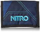 Nitro Snowboards Wallet, Monedero 14 cm, Fragments Blue