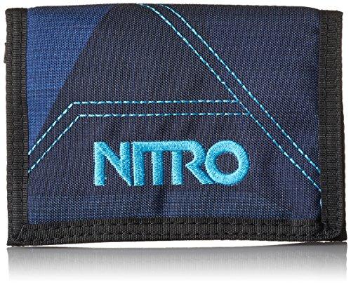 Nitro Wallet, Geldbörse, Geldbeutel, Portemonnaie, Münzbörse, Fragments Blue, 10 x 14 x 1 cm, 1131-878000_1945, 60g