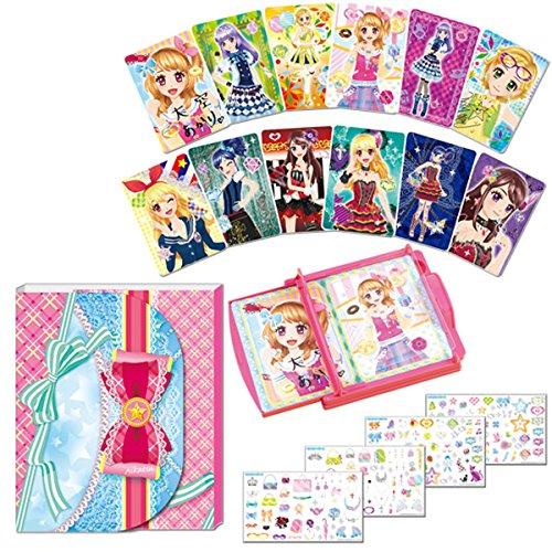 Aikatsu! Card manufacturers DX deco file set