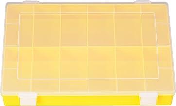 Hünersdorff Cajas de surtido PP CLASSIC, 12 compartimentos 225x335x55 mm, amarillo