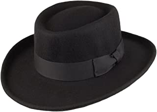 Jaxon Hats Wool Gambler Hat